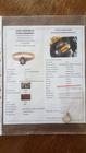 Śliczny Złoty Pierścionek 18K - Unikatowy Doskonały Naturalny Szafir z Efektem Aleksandrytu - Certyfikat nr.276_1108 (7)