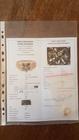 Złoty pierścionek 14K z Naturalnym Niepoprawianym Brylantem - Certyfikat Nr.399_1231 (10)