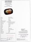SZAFIR NATURALNY - 3,12 ct - CERTYFIKAT 279_1111 (2)