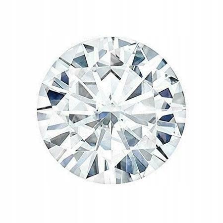 4,4mm Moissanit - Jak Diament Brylant - ok.0,35ct (1)